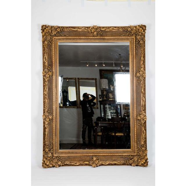 Giltwood Beveled Hanging Floor Length Wall Mirror Chairish