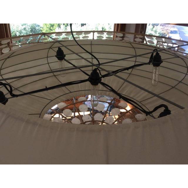Balinese-Style Chandelier For Sale In San Francisco - Image 6 of 8