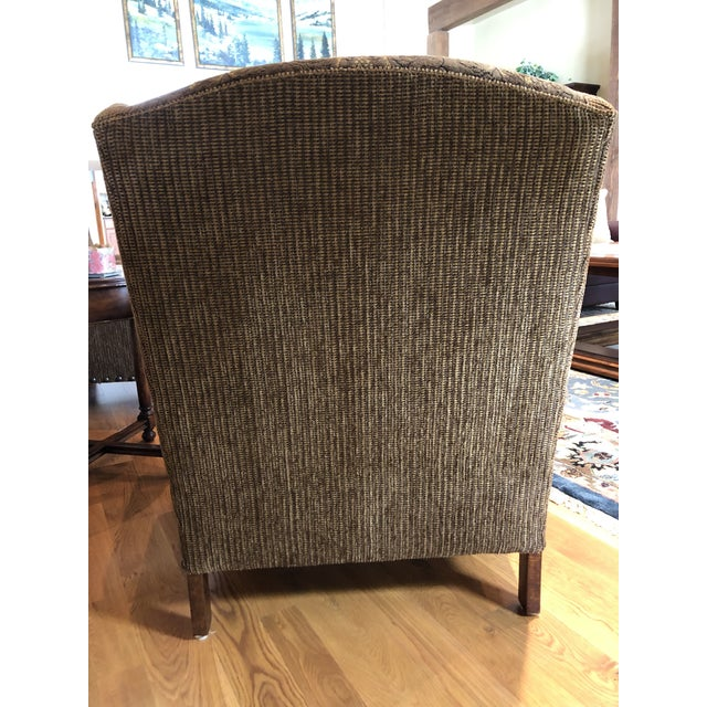 Modern Paladin Wingback Chairs- A Pair For Sale - Image 4 of 8