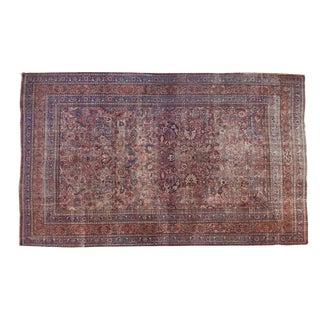 """Vintage Meshed Carpet - 10'2"""" X 16'8"""" For Sale"""