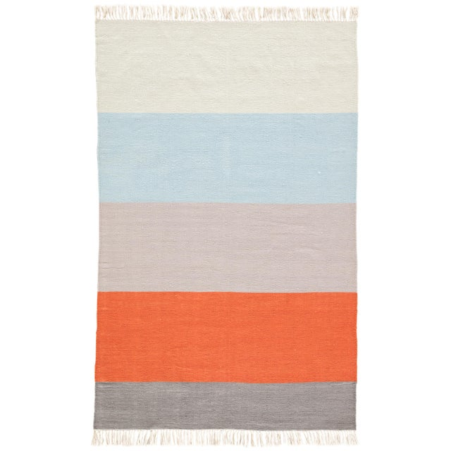 Jaipur Living Swane Indoor/ Outdoor Striped Area Rug - 5′ × 8′ For Sale In Atlanta - Image 6 of 6