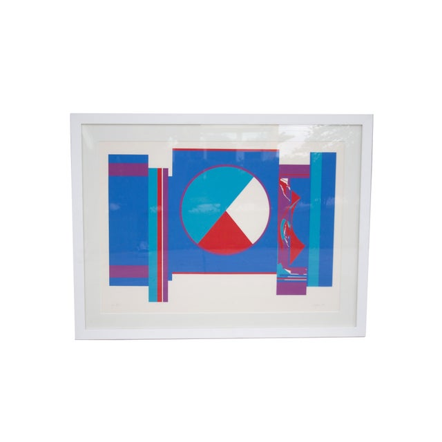 Original Budd Hopkins Untitled Abstract Expressional Serigraph, 1975 For Sale - Image 5 of 5