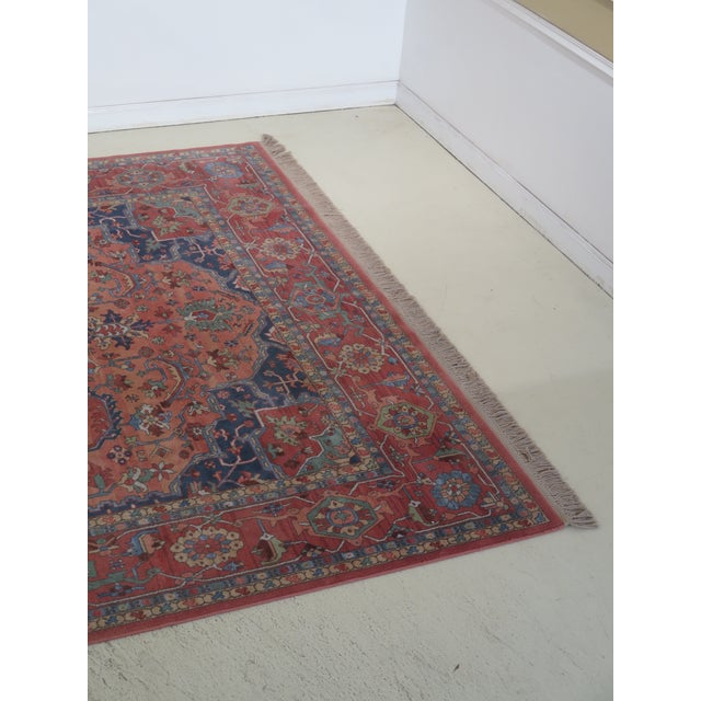KARASTAN Approx. 10 x 15 Heriz Pattern Rug Age: Approx: 30 Years Old Details: High Quality Construction Large Impressive...