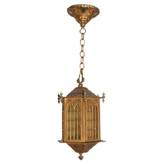 Gothic Style Hall Lantern For Sale