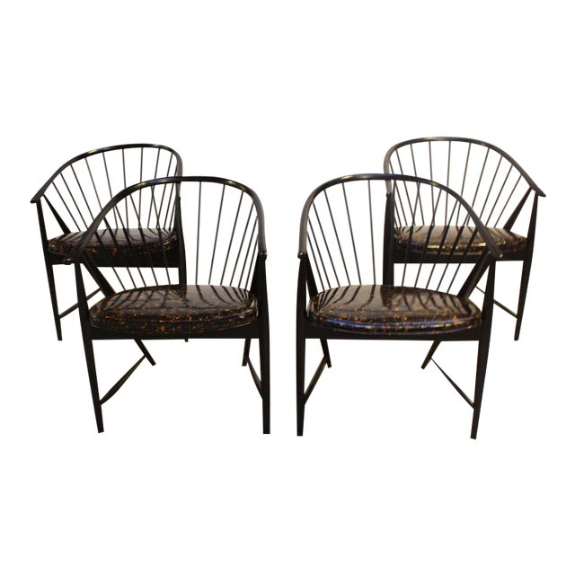 Set of Four Sonna Rosen 'Sulfjadern' Chairs - Image 1 of 8