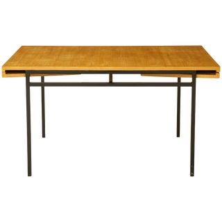 Rare Expandable Dining Table by Pierre Guariche & Atelier de Recherche Plastique For Sale