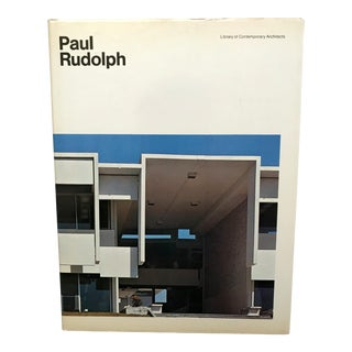 Paul Rudolph, Architect, Book by Yukio Futagawa (Photographer), Rupert Spade (Introduction) For Sale
