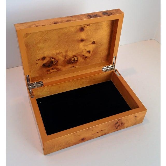 Burl Wood Box - Image 5 of 10
