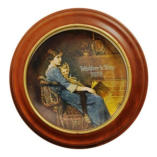 """Bed Time"" Decorative Plate by Knoweles For Sale"