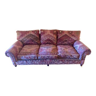 George Smith 8-Foot Kilim Sofa