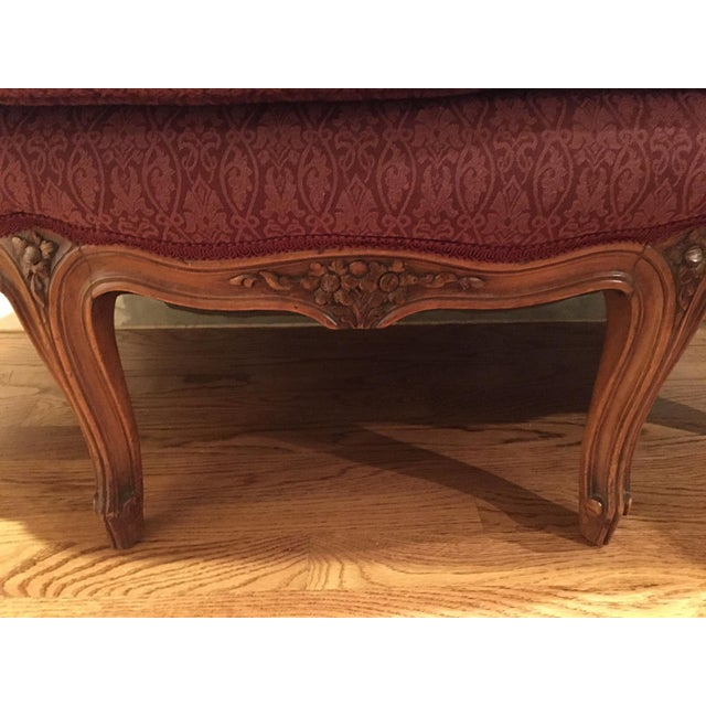 Late 20th Century Late 20th Century Louis XV Style Settee For Sale - Image 5 of 7