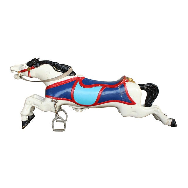 Parker Brothers Carousel Horse - Image 4 of 4