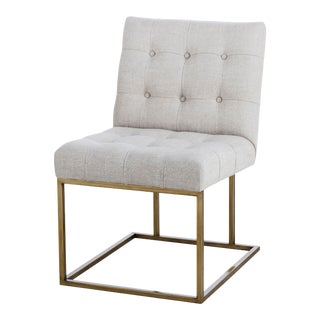 Century Furniture Kendall Metal Side Chair For Sale