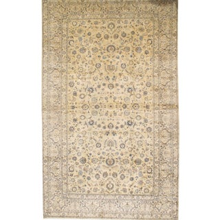 "Pasargad DC Original Persian Kashan Hand-Knotted Rug - 10'9"" X 17'9"" For Sale"
