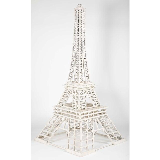 1950s 1950s Handmade Eiffel Tower Folk Art For Sale - Image 5 of 5