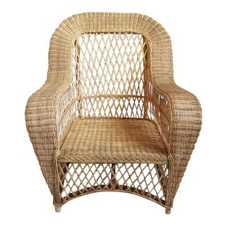 Jaxon Wicker Club Chair