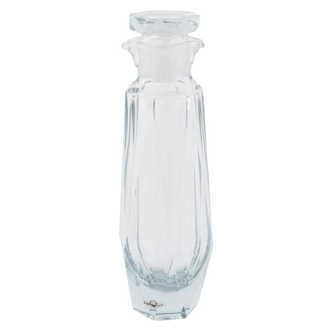 1950's VINTAGE STROMBERGSHYTTAN FACETED COCKTAIL SHAKER For Sale