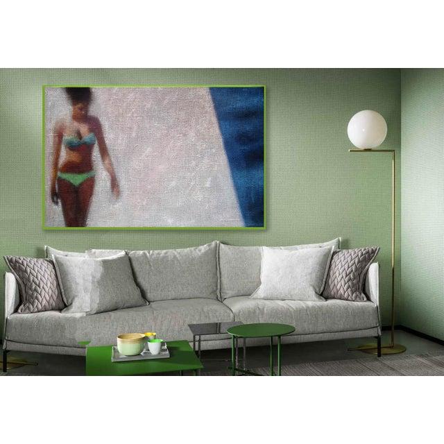 Girl in a Green Bikini - Image 3 of 6