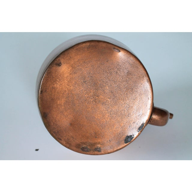Metal Vintage Copper & Brass Kettle Teapot For Sale - Image 7 of 8