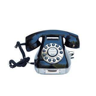 Classic Black & Silver Phone