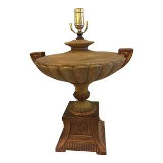 Neoclassical Urn Table Lamp For Sale