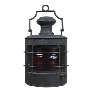 19th Century Hanging Marine Lantern For Sale