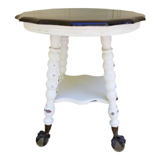 Le Vintage Ball & Claw Parlor Table For Sale