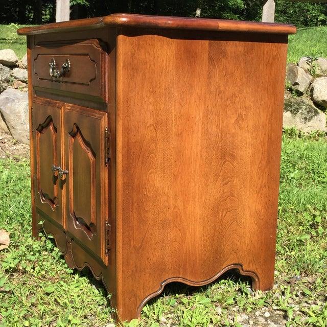 Ethan Allen Birchwood Nightstand For Sale - Image 5 of 11
