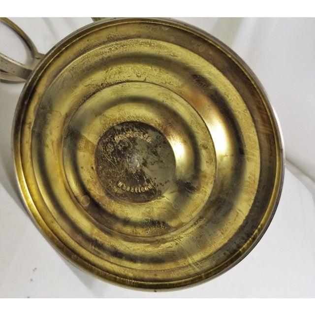 Vintage Kaadan Ltd. Wheatland Oil Lamp For Sale - Image 7 of 7