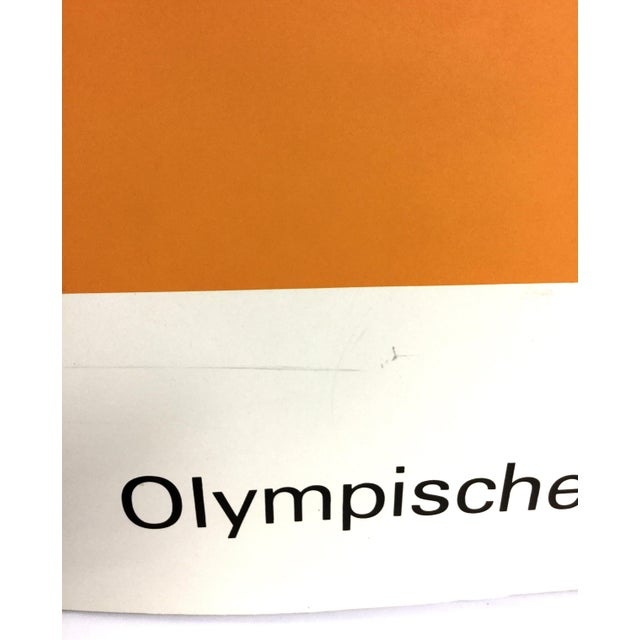 Max Bill Signed 1972 Munich Olympic Poster For Sale - Image 4 of 11