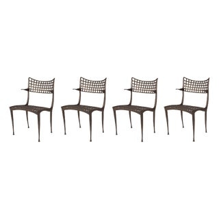 Dan Johnson Sol Y Luna Lounge Chairs- Set of 4 For Sale