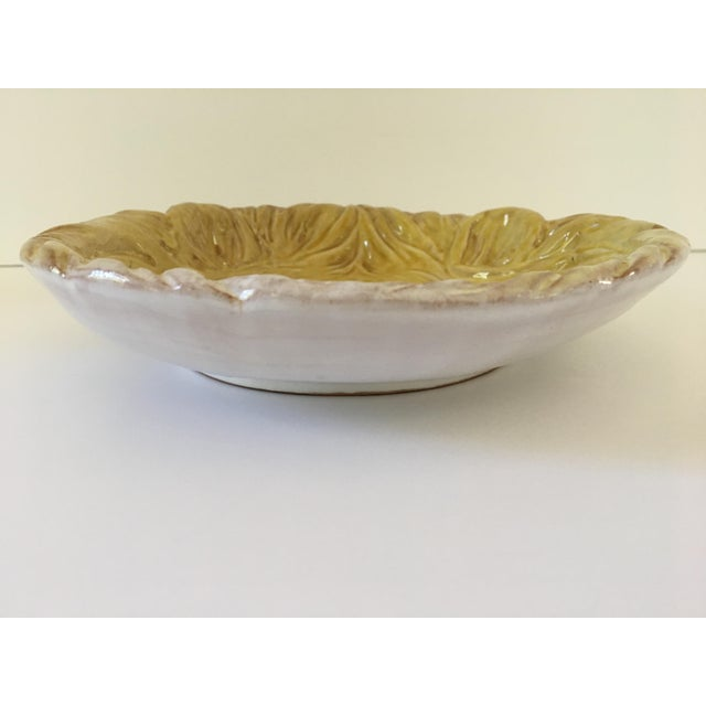 Mid 20th Century Larger- Italian Mid-Century Modern Golden Lion Bowl For Sale - Image 5 of 13