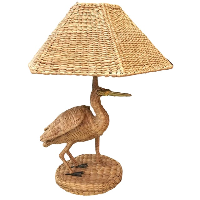 Mario Lopez Torres for Tzumindi Egret Table Lamp For Sale