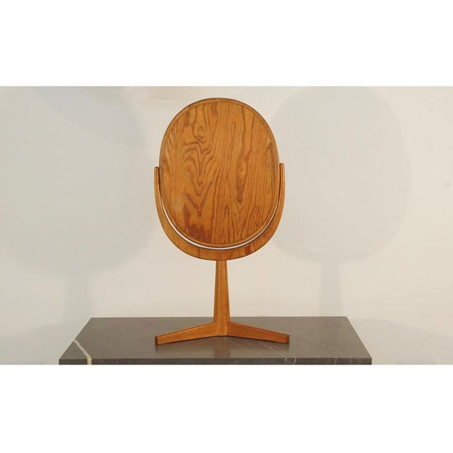 Mid 20th Century Mid 20th Century Hans Agne Jakobsson Table Mirror For Sale - Image 5 of 8