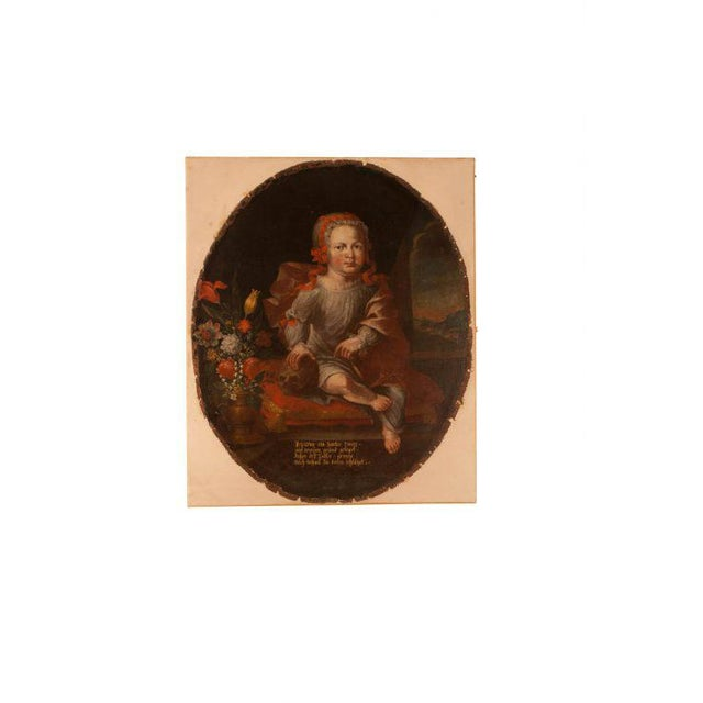 Memorial Portrait of an Child For Sale In San Francisco - Image 6 of 6