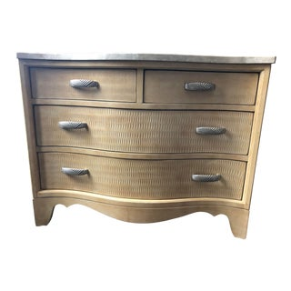 Contemporary Century Furniture Dresser With Stone Top For Sale