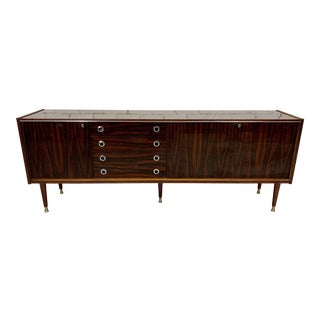 Mid-Century Modern Swiss Sideboard Credenza Buffet For Sale