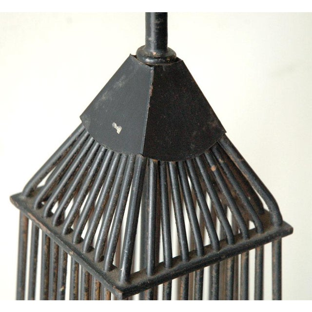 Mid 20th Century Obelisk Table Metal Foor or Tall Table Lamp For Sale - Image 5 of 10