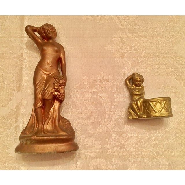 Art Nouveau Porcelain Figurines - A Pair - Image 2 of 6