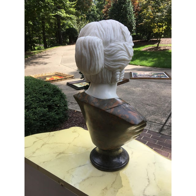 Lights 1990s Vintage Marble Classical Sculpture For Sale - Image 7 of 9