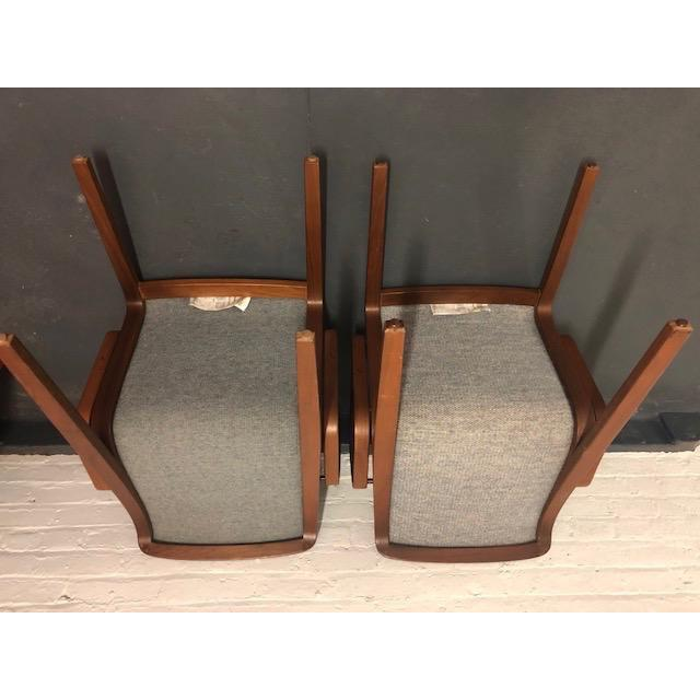 1980s 1980s Vintage Mid-Century Modern Bill Stephens for Knoll Chairs - A Pair For Sale - Image 5 of 12