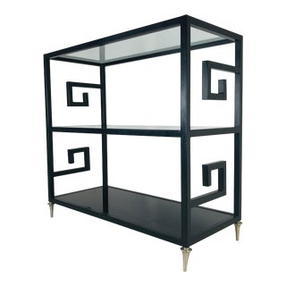 Greek Key Self / Etagere For Sale