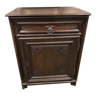 Early 19th Century French Oak Cabinet For Sale