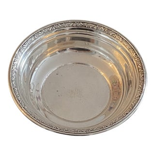 Wallace Silversmith Bon Bon Dish For Sale