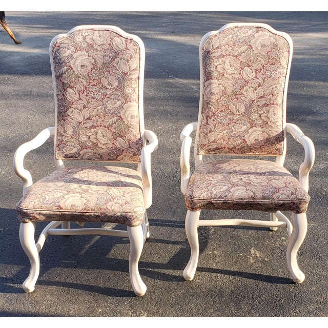 1960s Vintage High Back Patio Chairs- A Pair For Sale In Saint Louis - Image 6 of 6