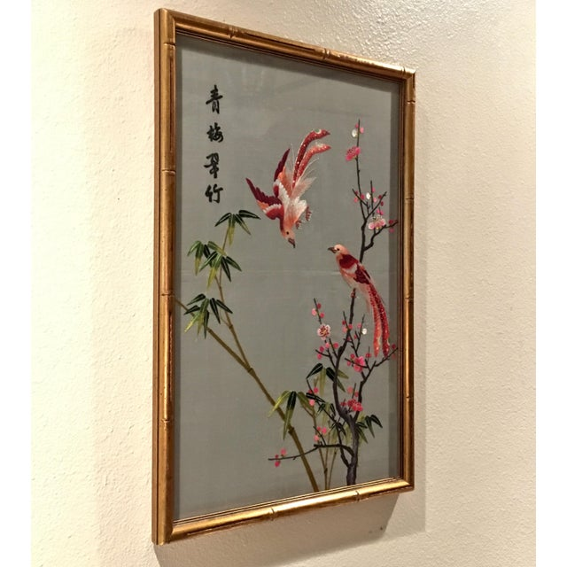 The art of silk embroidery goes back over 2,000 years in the Suzhou area of southern China. Artisans work with over 40...