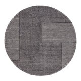 Image of Tom Dixon Stripe Round Rug For Sale
