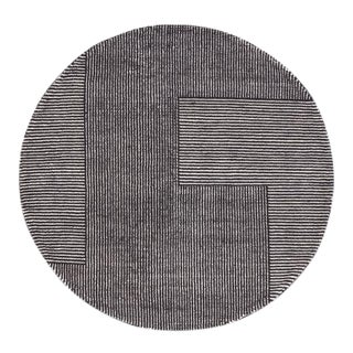 Tom Dixon Stripe Round Rug For Sale
