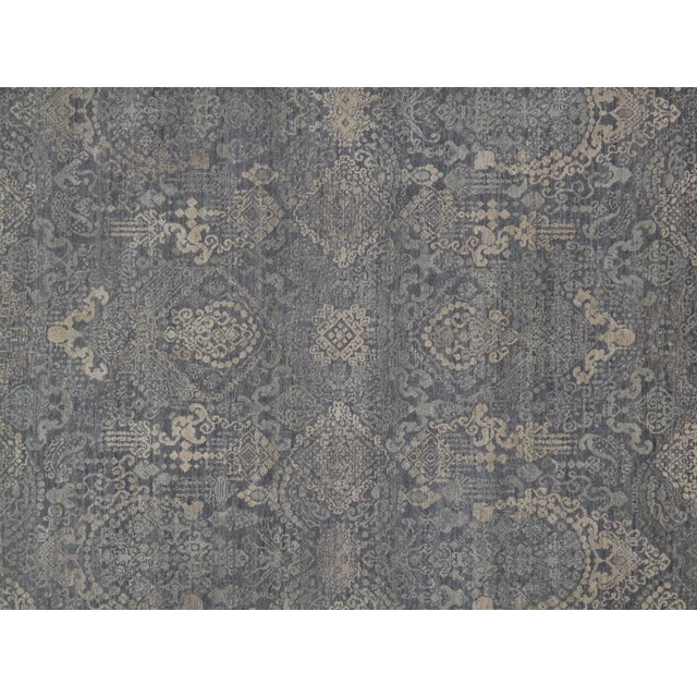 2010s Stark Studio Rugs Traditional New Oriental Indian Wool Rug - 8′10″ × 11′10″ For Sale - Image 5 of 5