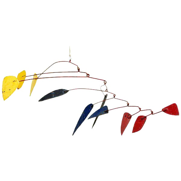 Mid-Century Modern Style Mobile Hanging Sculpture For Sale